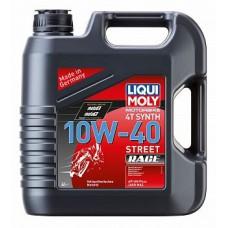 Liqui Moly синт. Motorbike 4T Synth Street Race 10W40 4л 20754