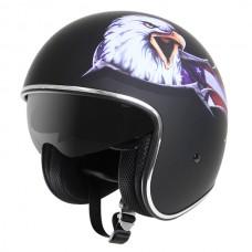Шлем Опенфэйс Outlaw Eagle V537-25