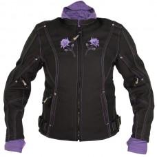 Куртка женская Tri-Tex, с защитой, черная