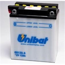 Аккумулятор UNIBAT YB12A-A 12v 10Ah