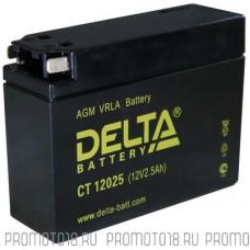 Аккумулятор DELTA YTX4B-BS 12v 2.5Ah