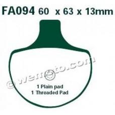 Тормозные колодки HD EBC FA094 GG (FXDL)