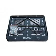 Рамка крепления номерного знака BMW