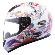 Шлем LS2 интеграл FF352  COMIC GLOSS WHITE