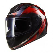 Шлем LS2 интеграл FF320 STREAM STINGER BLACK RED