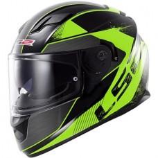 Шлем LS2 интеграл FF320 STREAM STINGER BLACK FLUO GREEN