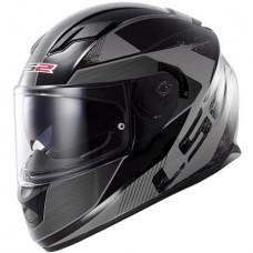 Шлем LS2 интеграл FF320 FF320 STREAM STINGER BLACK TITANIUM