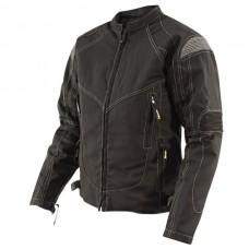 Куртка женская Tri-Tex, с защитой черно-серая