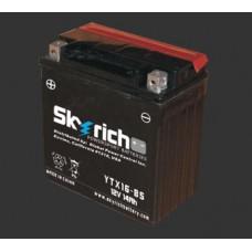 Аккумулятор 12v SKYRICH YTX16-BS