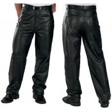 Штаны мужские Xelment, кожаные