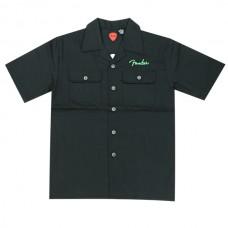 Рубаха Tiki Black Button короткие рукава