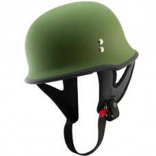 Шлем Outlaw T-75 'Military' German Style Flat Green