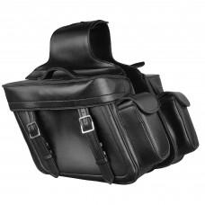 Кофры Zip Off PVC Throw Over Saddle Bag w/ Bonus Side Pockets (14X12X6X21)