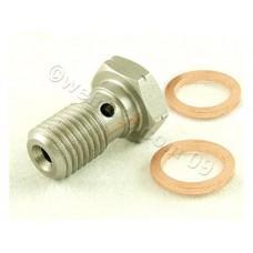 Болт тормозной 1 контур 1 мм