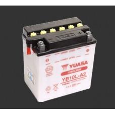 Аккумулятор YUASA YB10L-A2 с электролитом