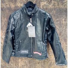 Куртка женcкая (черная), искусственная кожа