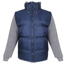 Perida Mens Blue Puff Vest Jacket