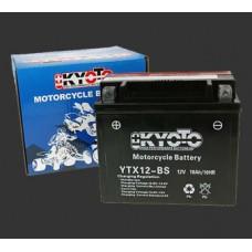 Аккумулятор 12v KYOTO YTX12-BS (12-12B)