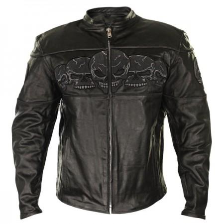 Куртка мужская Skull Embroidery