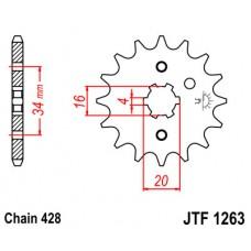 Звезда передняя JTF-1263.14 428