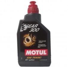 Motul для КПП Gear 300 75w90 1л 100% Synt.