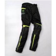 Штаны мужские Monster, черно/зелёные, текстиль