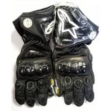 Перчатки Alpine Star черные с защитой