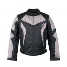 [RUSH] Мотокуртка COMMUTER текстиль, цвет Черный/Серый