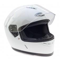 Шлем интеграл GSB G-349 Белый глянцевый