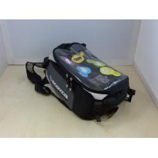 Сумка на бензобак-рюкзак SCOYCO серый, магнит+завяки