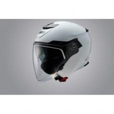 Шлем Опенфэйс GSB G-263 WHITE GLOSSY, белый цве, двойные очки