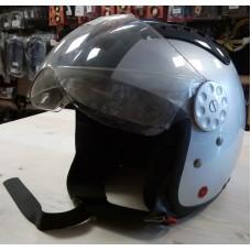 Шлем Опенфэйс HCI-15 Silver Glossy