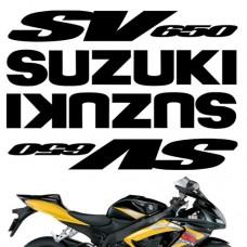 Комплект наклеек SUZUKI SV650