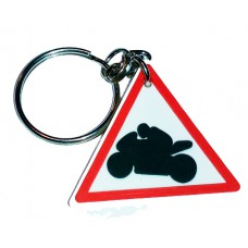 "Брелок для ключей ""знак мотоциклист"""