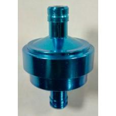 Топливный фильтр тюнинговый, синий