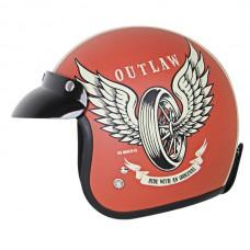 Шлем Outlaw OG FLAT RED X403