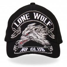 Бейсболка Lone Wolf No Club Ball