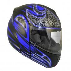 Шлем модуляр Hawk H-6657 Blue Warrior