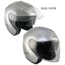 Шлем Опенфэйс Hawk AP-80 Silver Dual Visor
