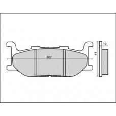 Тормозные колодки Brenta GG FT3057