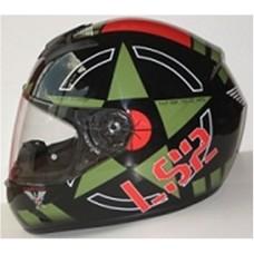 Шлем LS2 интеграл FF352  CORPS BLACK GREEN