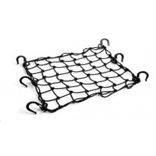 RW Сетка багажная черная (пластиковые крючки) 40*40