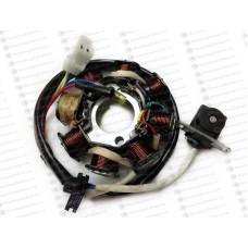 Статор генератора 139QMB 8 катушек (1 инд.)