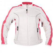 Куртка женская Tri-Tex , с защитой, бело-розовая