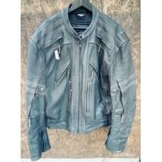 """Куртка мото кожаная б/у """"Vulcan"""" с возможностью установки защитных вставок"""
