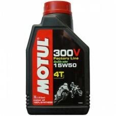 Motul Moto 300v 4T Factory Line 15W50 1л
