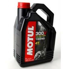 Motul Moto 300v 4T Factory Line 15W50 4л