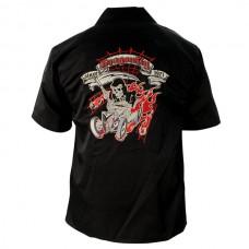 Рубаха Dragonfly Roadhouse короткие рукава