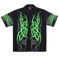 Рубаха DRAGONFLY GREEN короткие рукава