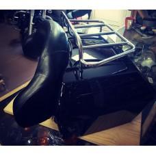 Кофр задний Harley, спинка+багажник